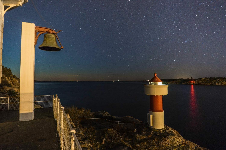 odderøya fyr kristiansand sørlandet klokke